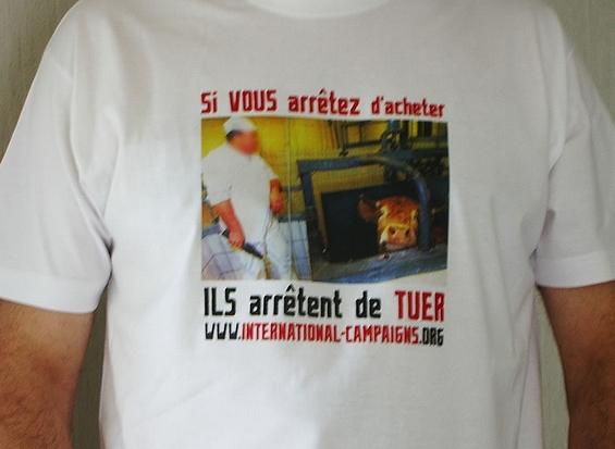 T-shirt Si vous arrêtez d'acheter...