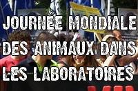 Journée Mondiale Animaux Laboratoires