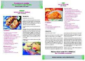 Tract idées recettes Journée Sans Viande
