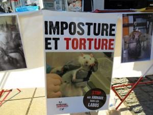 Dénoncer et protester contre la vivisection