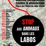 Avril 2011 : Opération Vélo contre la vivisection !
