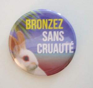 badge bronzez sans cruauté