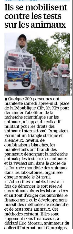 Le Parisien 28.04.14