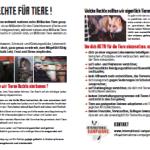 Tract droits des animaux (en allemand)