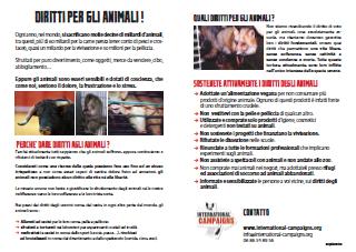 Tract droits des animaux (en italien)
