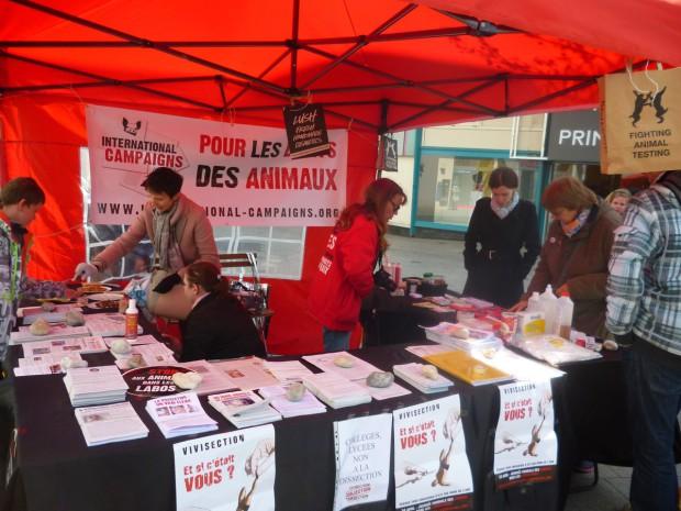 Le Havre - Journée Mondiale Animaux dans les laboratoires