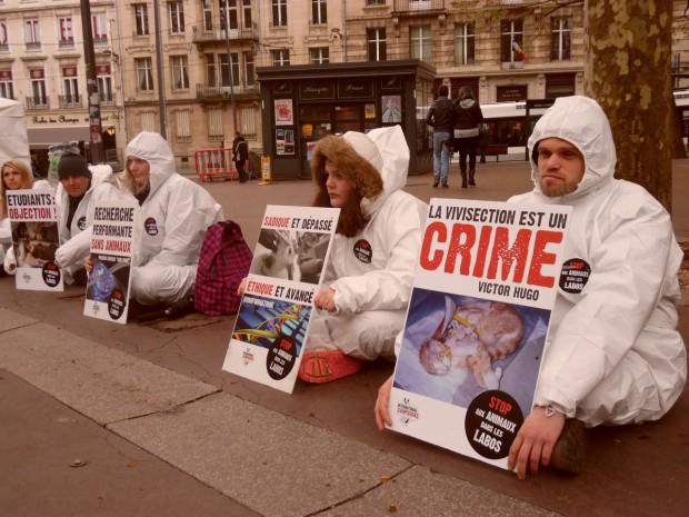 Nancy Journée Mondiale Animaux Laboratoires