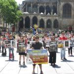 PARIS – 09 juillet 2016 – Happening et vidéo-sensibilisation au véganisme