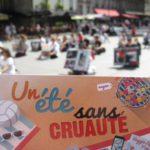 PARIS – 13 août 2016 – Happening et vidéo-sensibilisation au véganisme