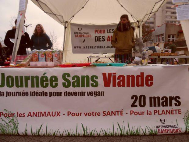 NANCY- Samedi 18 mars - Journée Sans Viande