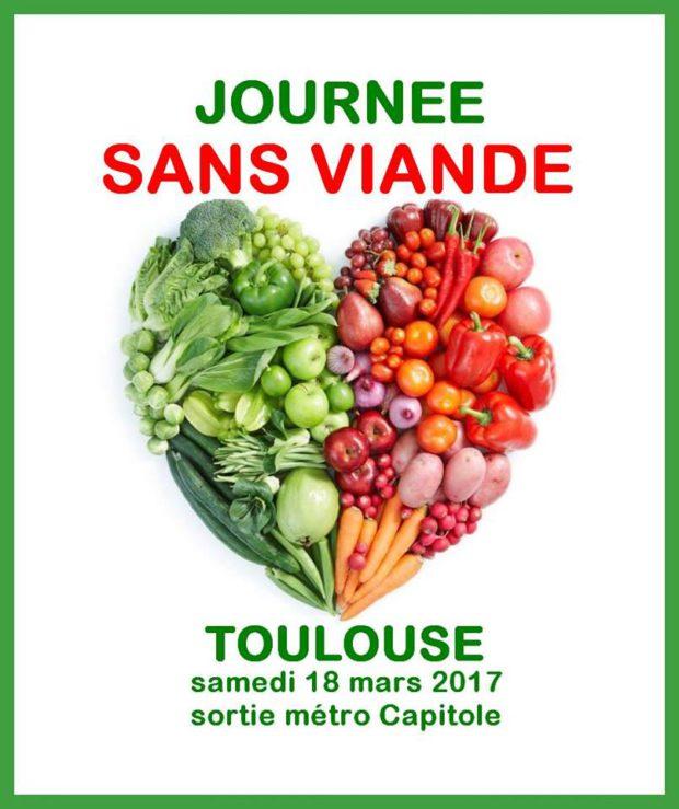 TOULOUSE - Journée Sans Viande - Samedi 18 mars 2017