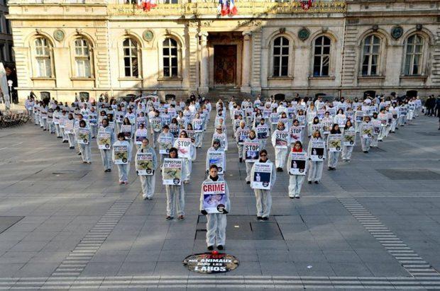 IC Lyon 22 avril 2017 Journée Mondiale des Animaux dans les laboratoires