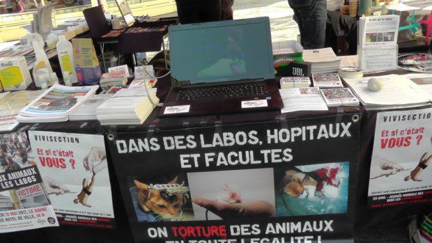 Le Havre - STOP aux animaux dans les labos