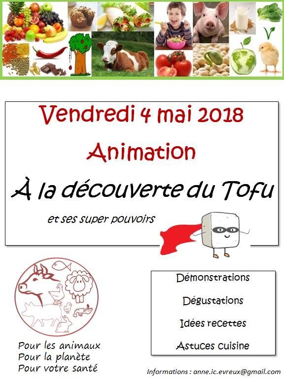 Biocoop St Alban - Atelier Tofu - Vendredi 04 mai
