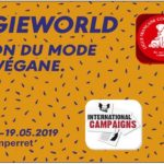 PARIS – Salon Veggie World – 18 et 19  mai 2019